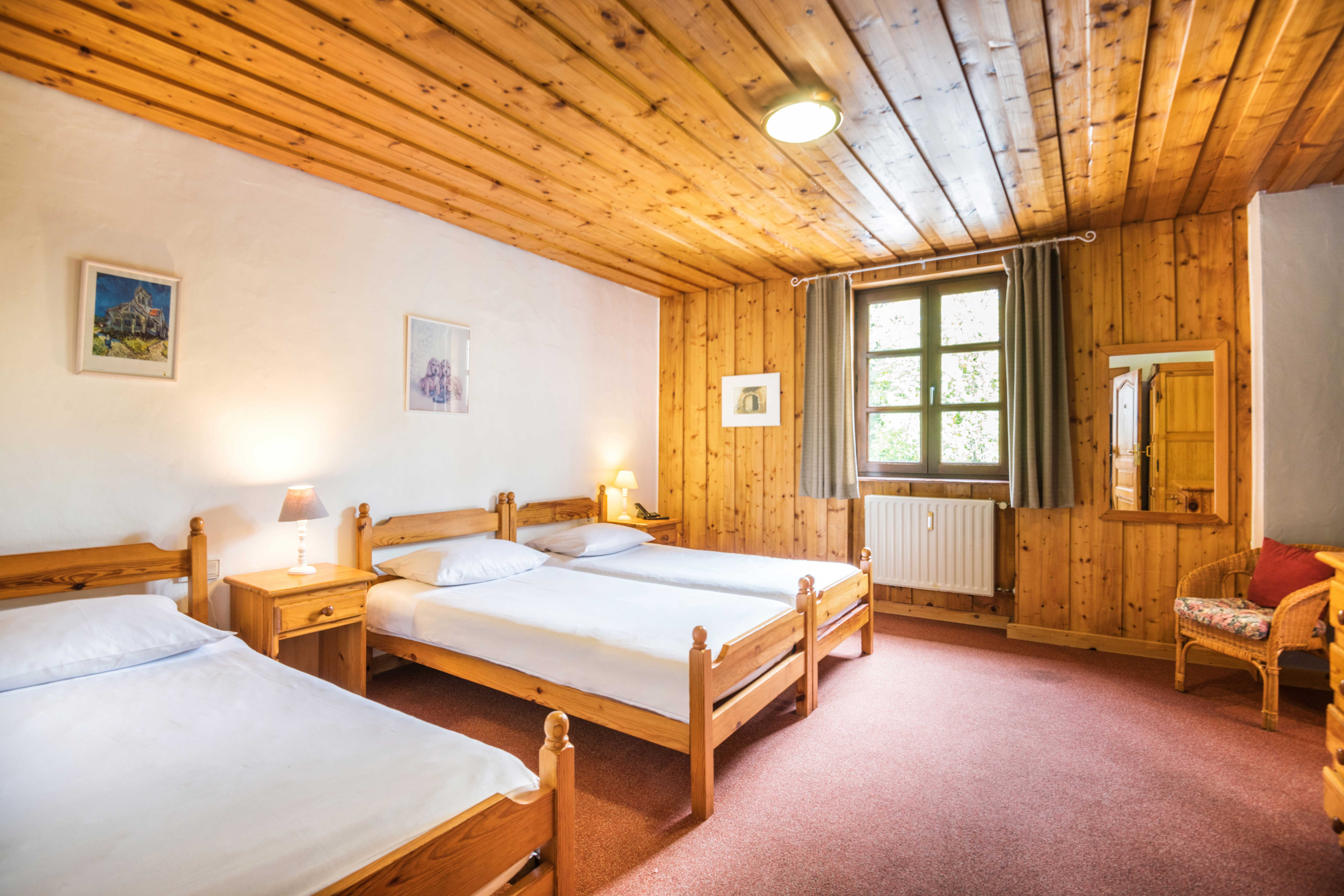 bedroom of Triple Room