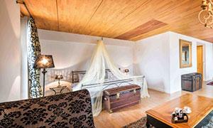 bedroom of the room La Suite Royale