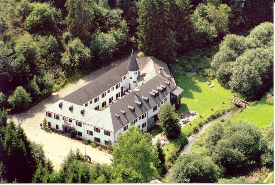 Air view of the hotel buidling